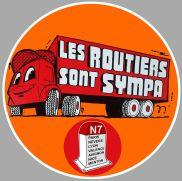 LES-ROUTIERS-SONT-SYMPAS-AUOCOLLANT